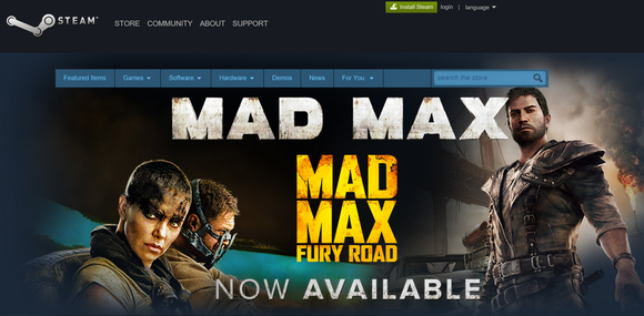 mad max steam