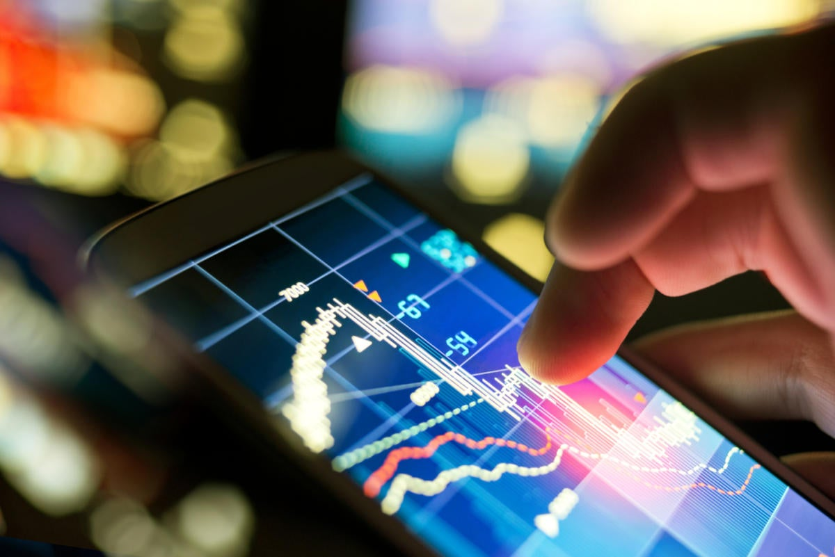 mobile tablet statistics analytics stocks