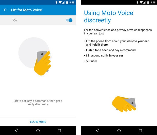 Moto X Pure Edition - Lift For Moto Voice