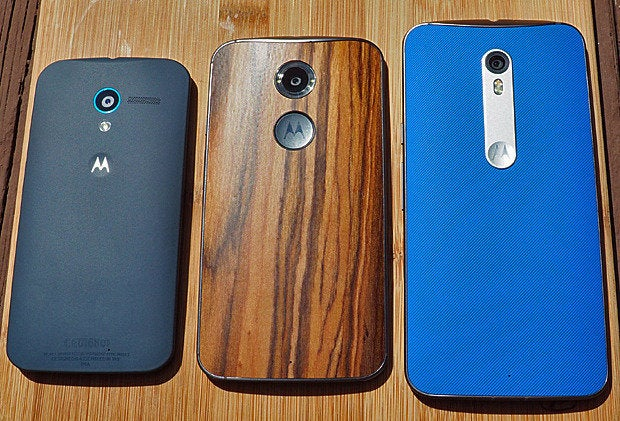 Moto X Pure Edition vs 2014 vs 2013