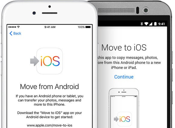 move to ios android app