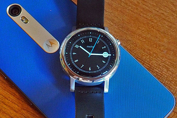 New Moto 360 Hands On