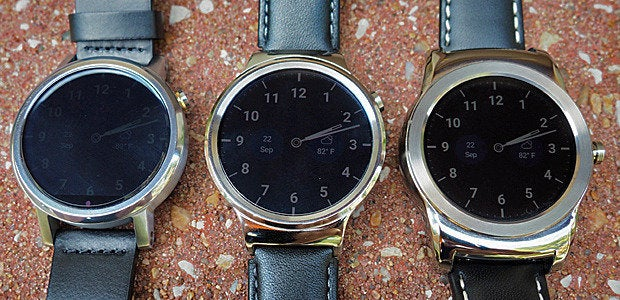 New Moto 360, Huawei Watch, LG Watch Urbane