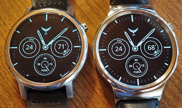 New Moto 360 vs Huawei Watch: Ambient Mode