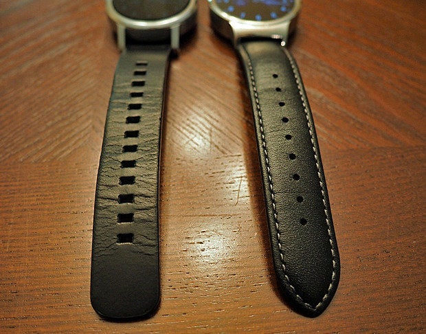 New Moto 360 vs Huawei Watch: Bands