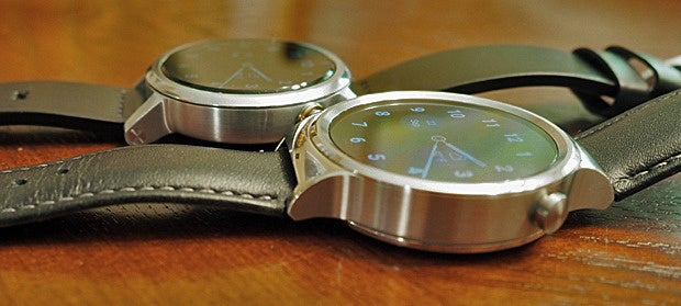 New Moto 360 vs Huawei Watch: Bezels