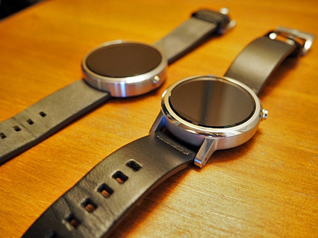 New Moto 360 vs Original: