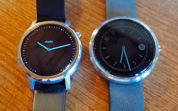 New Moto 360 vs Original: Ambient Mode
