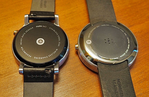 New Moto 360 vs Original: Back