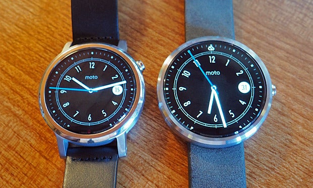 New Moto 360 vs Original: Full Face