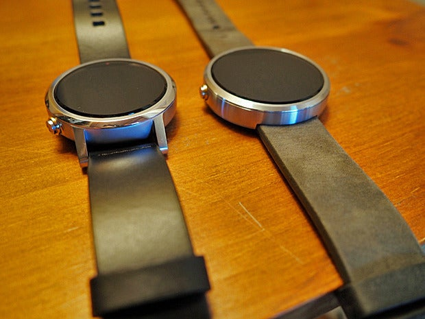 New Moto 360 vs Original: Top