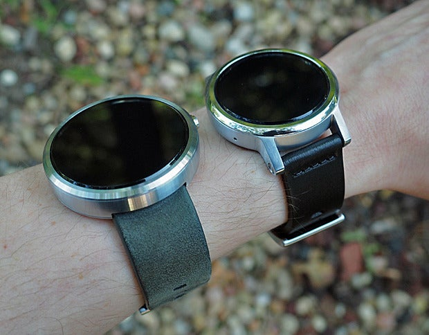 New Moto 360 vs Original: Wearing