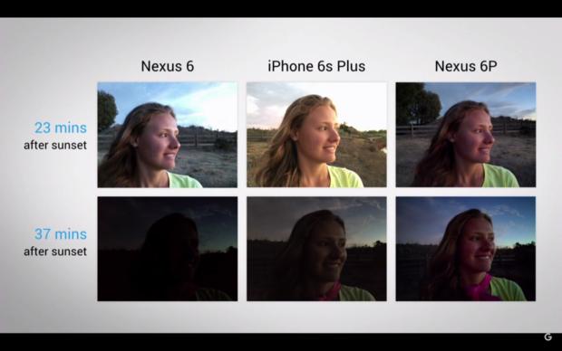 nexus camera specs