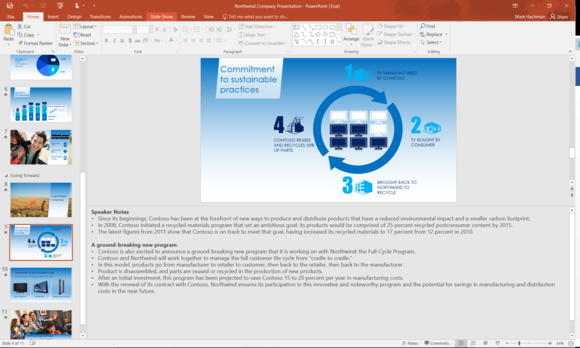 office 2016 review powerpoint 2016 redo