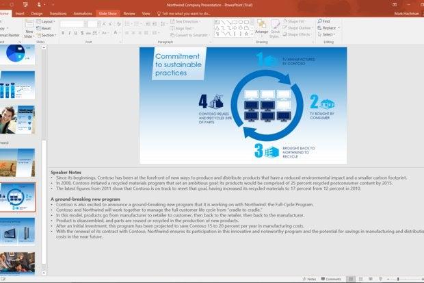 microsoft announces two brilliant powerpoint 2016 design tools