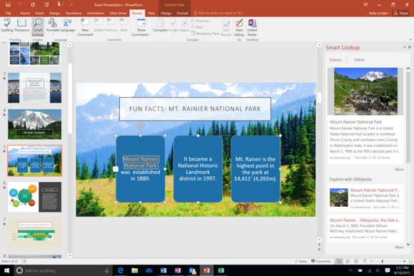 office 2016 review powerpoint demo shot