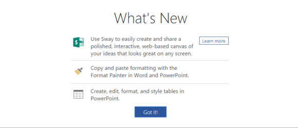 office 2016 review whats new in word online