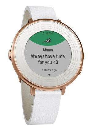 pebble time round gold 14mm 3qr
