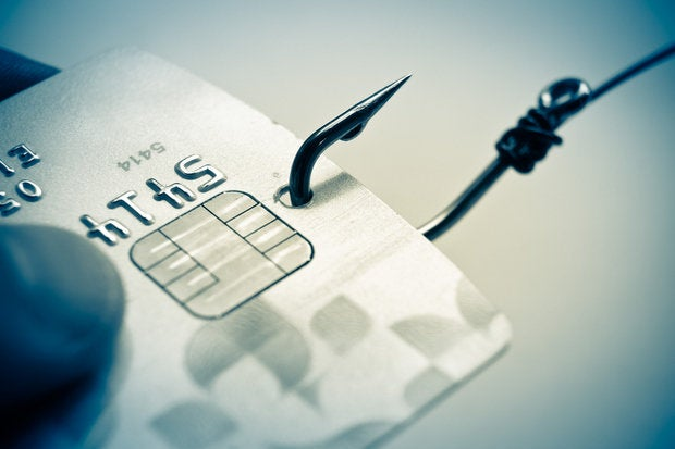 phishing cyber theft hacked scam