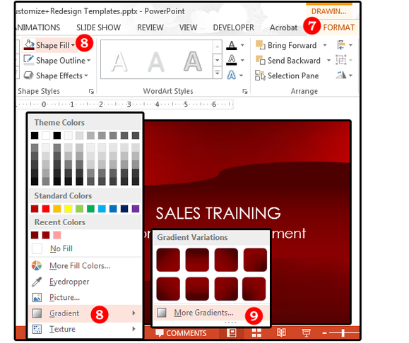 powerpoint 02b redesign an existing template