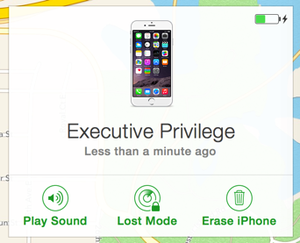 private i find my iphone