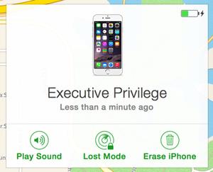 private i find my iphone