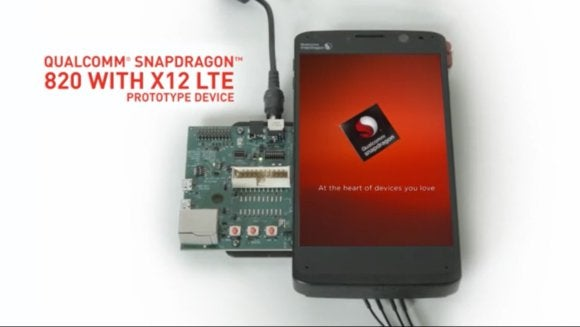 A Qualcomm snapdragon 820 prototype
