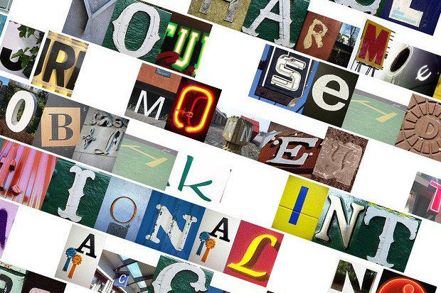 ransom note blackmail