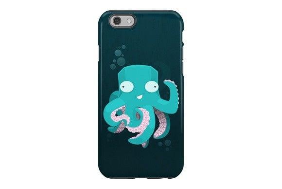 redbubble kraken iphone
