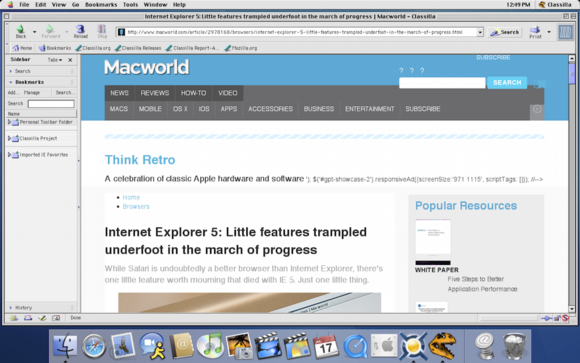 refresh an old mac install a modern browser