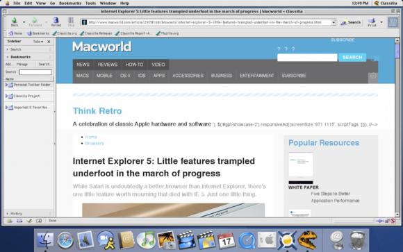 refresh an old mac install a modern browser