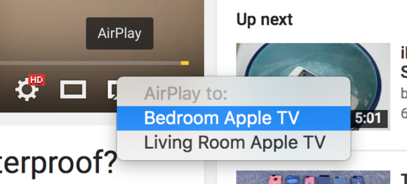 safari airplay