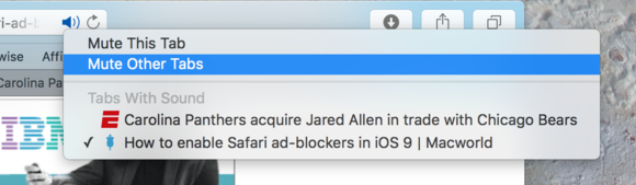 safari muting