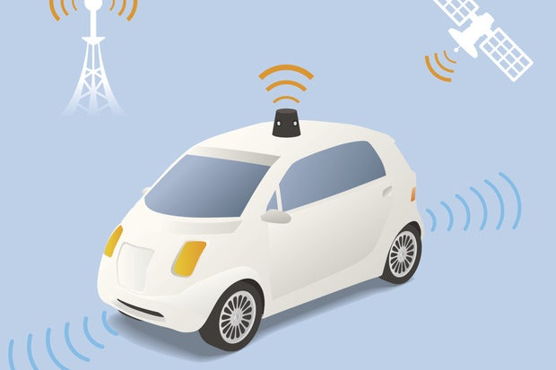 self driving car wireless auto