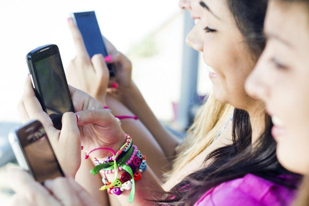 smartphones kids mobile devices