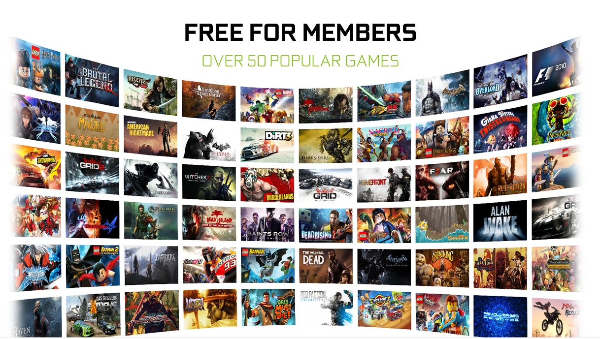 Nvidia GeForce Now aims to be the 'Netflix of games' for just 8