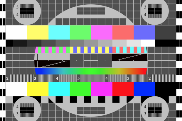 soviet tv test card