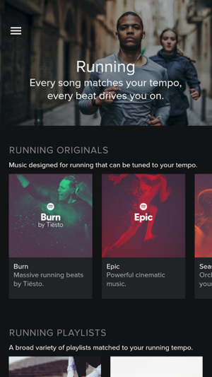 spotify running android