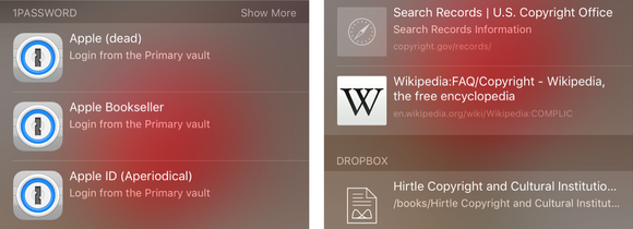 spotlight ios9 app integration