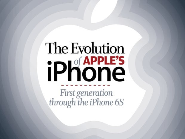 The Evolution of Apple's iPhone [cover]