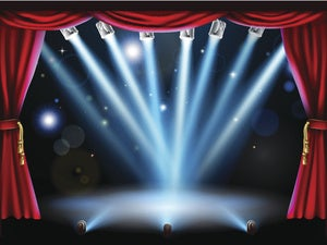 stage lights action theatre