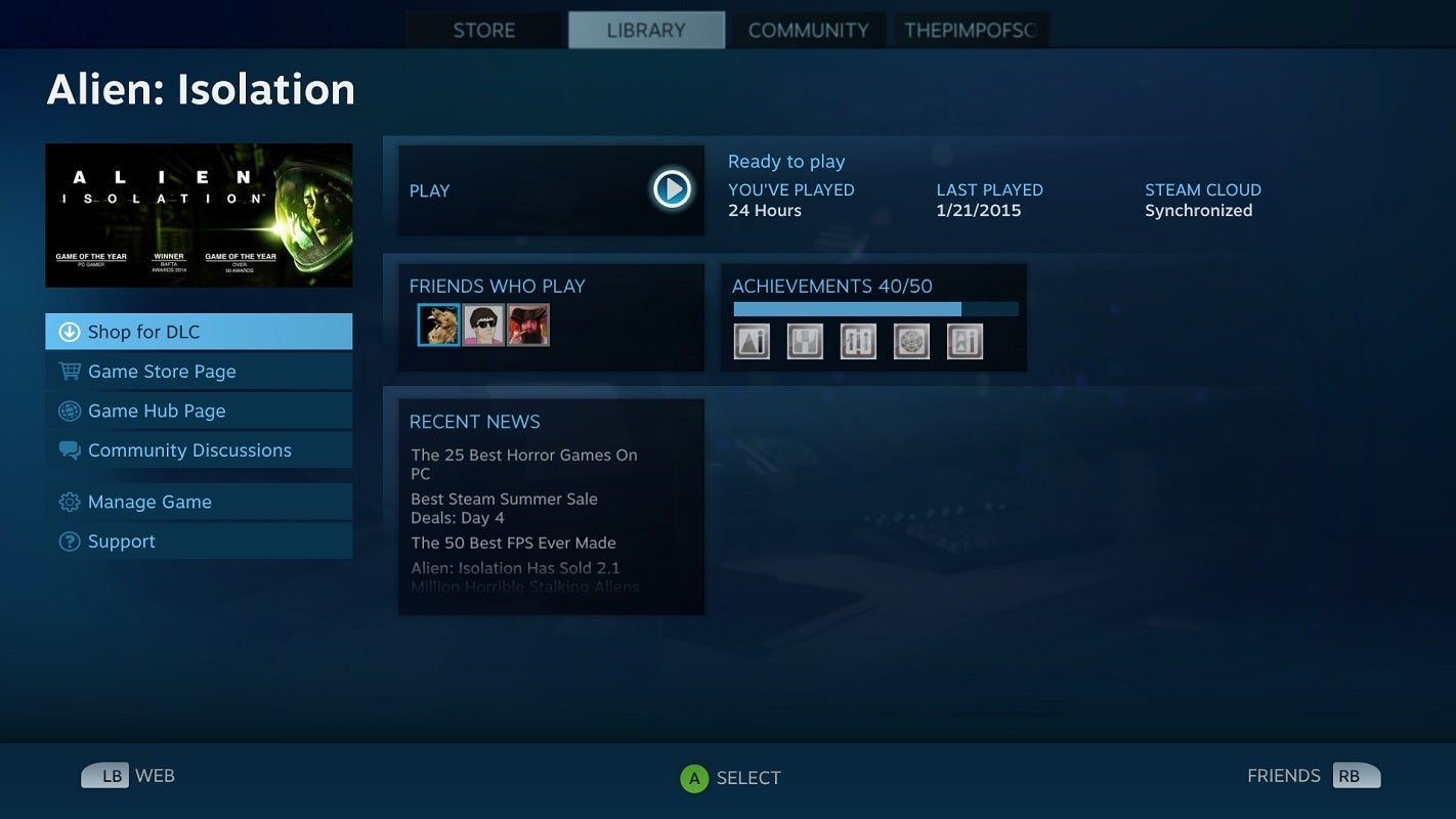 how to see who you follow on steam