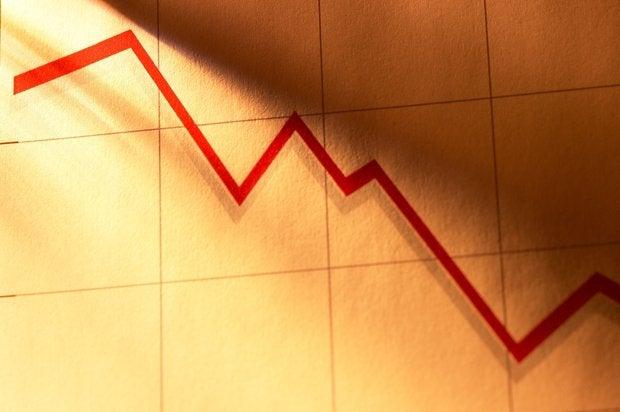 stock loss downfall bankrupt loosing stock market