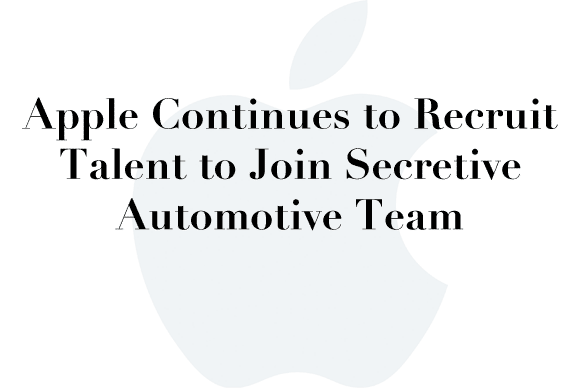 team apple car