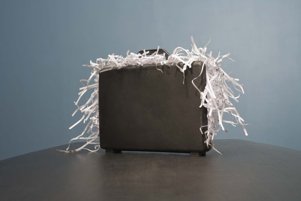 Document shredder leaves data security in tatters