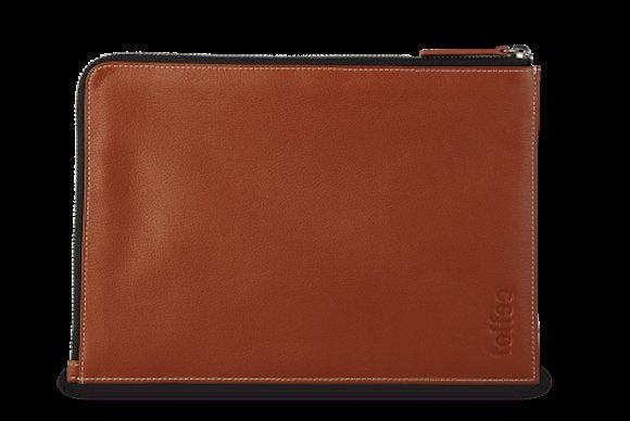 toffee leathercornersleeve ipad