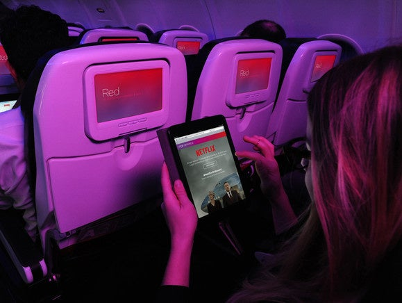 Netflix on iPad