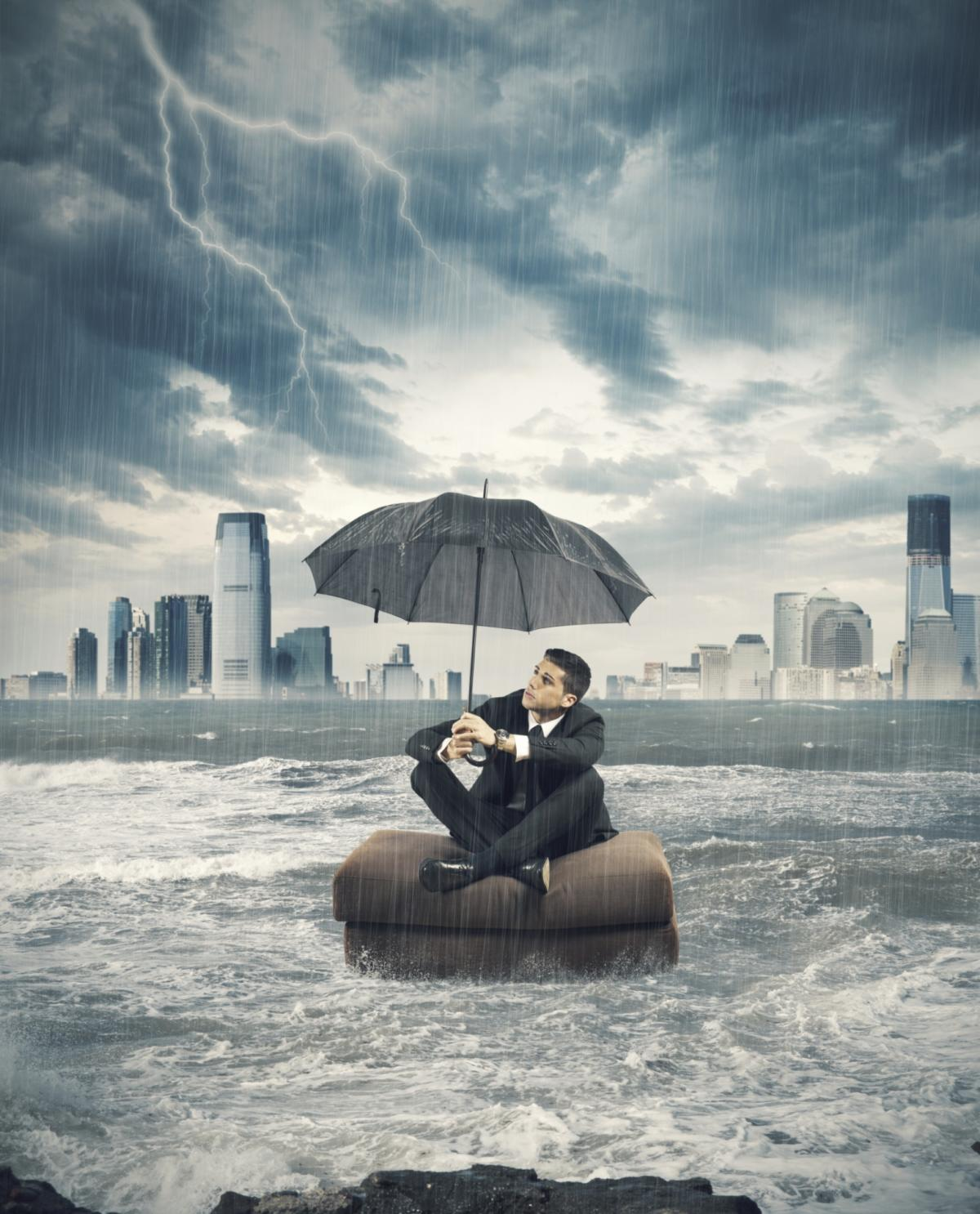 weather storm business climate adversity challenge rough