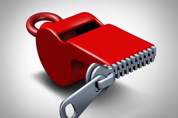 whistleblower silence ts