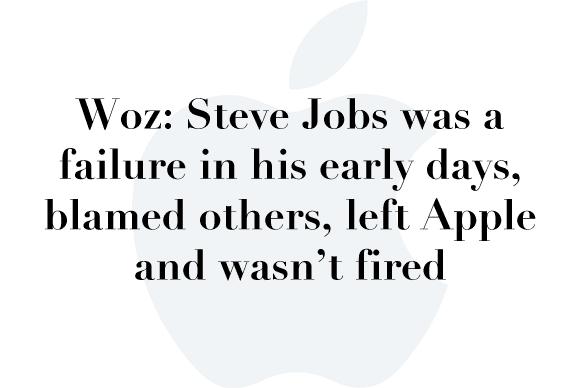 woz steve jobs